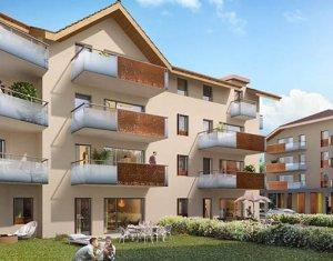 Achat / Vente appartement neuf Faverges Seythenex proche lac d'Annecy (74210) - Réf. 2267