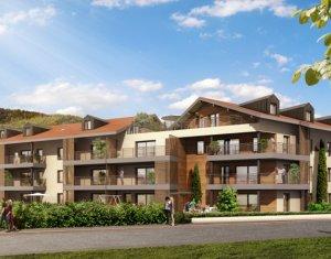 Achat / Vente appartement neuf Fillinges proche Genève (74250) - Réf. 893