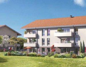 Achat / Vente appartement neuf Larringes au cœur du Hameau de Verossier, à 4km d'Evian (74500) - Réf. 1293