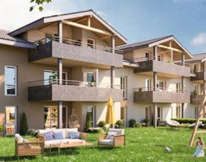 Achat / Vente appartement neuf Margencel à 5 minutes du centre (74200) - Réf. 2927