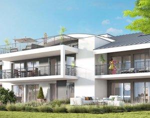 Achat / Vente appartement neuf Messery avec vue sur le lac Léman (74140) - Réf. 1760