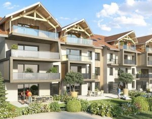 Achat / Vente appartement neuf Poisy proches grands axes et panorama montagnes (74330) - Réf. 889