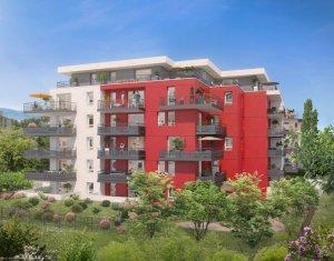 Achat / Vente appartement neuf Saint-Julien-en-Genevois à 2 min à pied de la gare (74160) - Réf. 2502