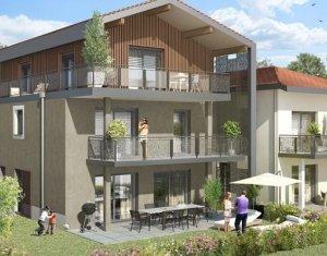 Achat / Vente appartement neuf Saint-Julien-en-Genevois résidence de charme aux portes de la Suisse (74160) - Réf. 925