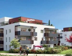 Achat / Vente appartement neuf Saint-Julien-en-Genevois vue sur le hameau de Cervonnex (74160) - Réf. 1351