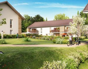 Achat / Vente appartement neuf Saint-Martin-Bellevue à 11 km d'Annecy (74370) - Réf. 1519