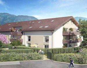 Achat / Vente appartement neuf Saint-Pierre-en-Faucigny proche gare (74800) - Réf. 5914