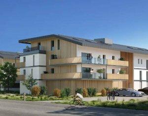 Achat / Vente appartement neuf Sallanches cœur quartier pavillonnaire (74700) - Réf. 3089