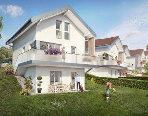 Achat / Vente appartement neuf Thorens-Glières proche mairie (74570) - Réf. 3741