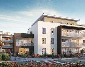 Achat / Vente appartement neuf Vétraz-Monthoux proche groupe scolaire Françoise Dolto (74100) - Réf. 1766