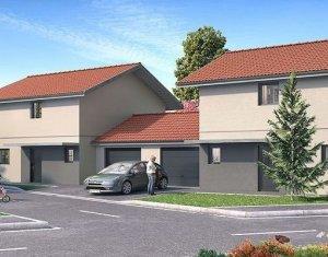 Achat / Vente appartement neuf Vulbens villas mitoyennes au cœur du village (74520) - Réf. 1136