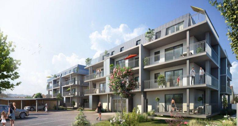 Achat / Vente appartement neuf Aix-les-Bains proche commodités (73100) - Réf. 3977