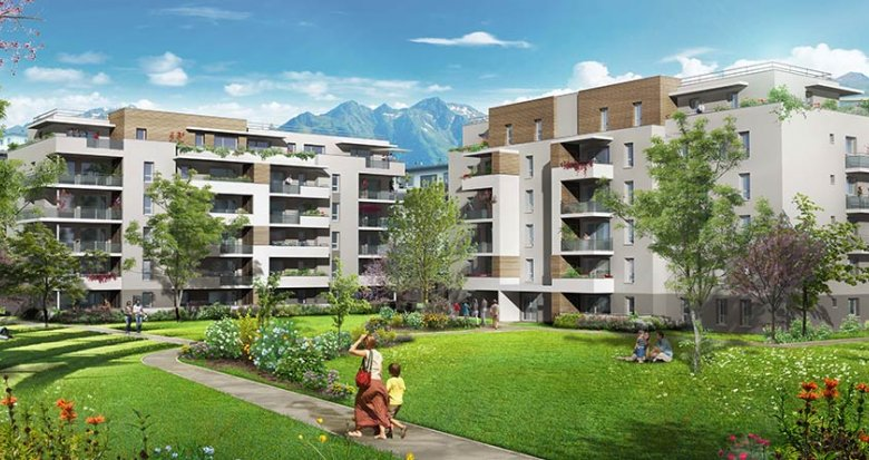 Achat / Vente appartement neuf Albertville quartier Val Des Roses (73200) - Réf. 1846