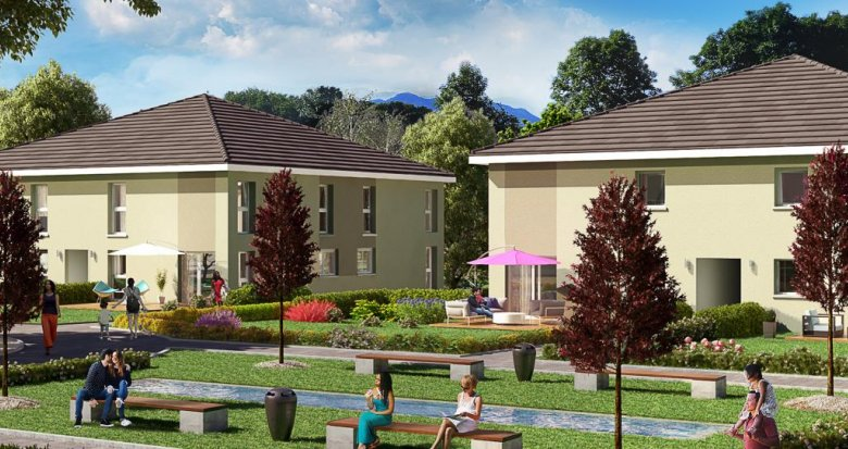 Achat / Vente appartement neuf Alby-sur-Chéran proche commodités et grands axes (74540) - Réf. 284
