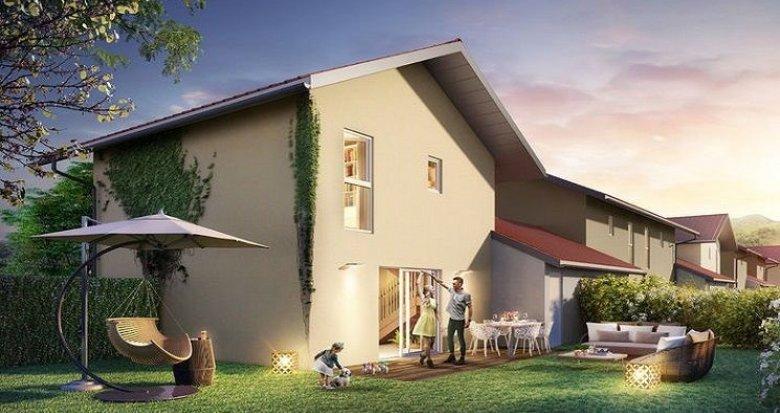 Achat / Vente appartement neuf Allinges villas mitoyennes au cœur du village (74200) - Réf. 1125