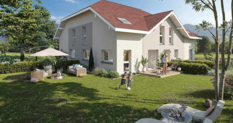 Achat / Vente appartement neuf Amancy dans la vallée de L'Arve (74800) - Réf. 5009