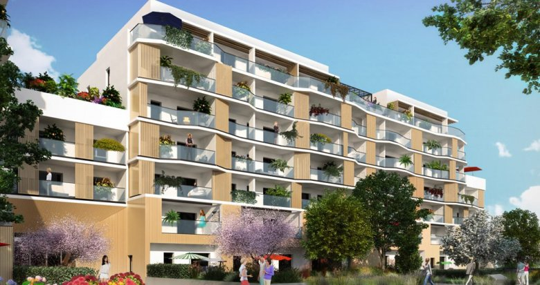 Achat / Vente appartement neuf Annecy au coeur de l'Ecoquartier Vallin Fier (74000) - Réf. 1134