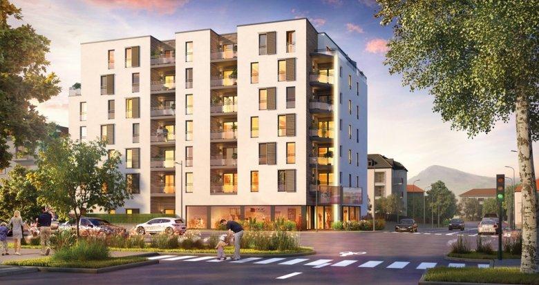 Achat / Vente appartement neuf Annecy proche quartier Romain (74000) - Réf. 2011