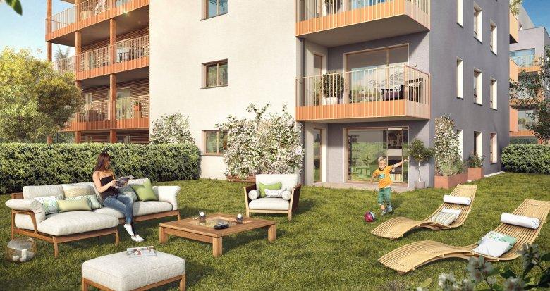 Achat / Vente appartement neuf Annemasse entre l'Arve et le centre-ville (74100) - Réf. 6148
