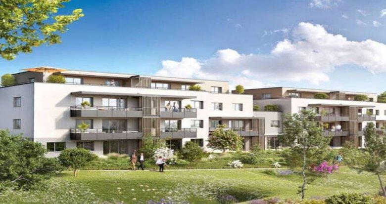 Achat / Vente appartement neuf Ayse à 250m de la gare Léman Express (74130) - Réf. 5375