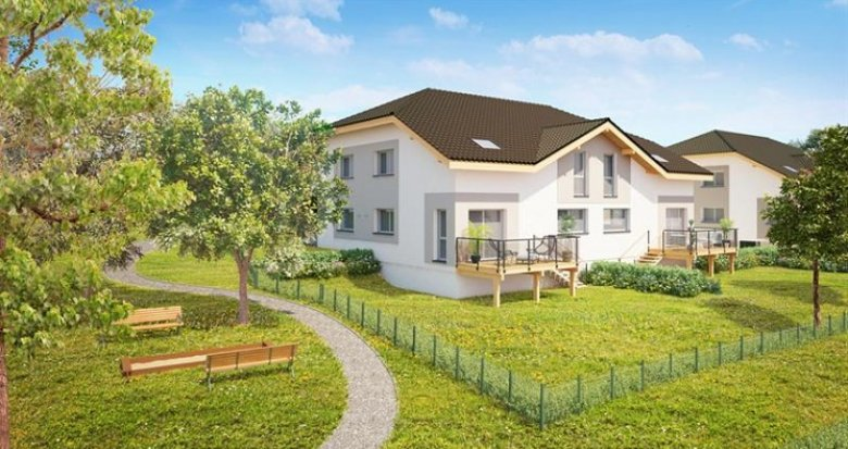 Achat / Vente appartement neuf Ballaison vue sur lac Léman (74140) - Réf. 153