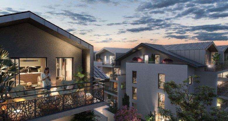 Achat / Vente appartement neuf Beaumont au coeur du village (74160) - Réf. 5552