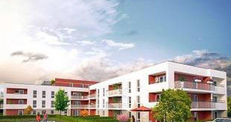 Achat / Vente appartement neuf Bourg-en-Bresse quartier de Pennessuy (01000) - Réf. 2194