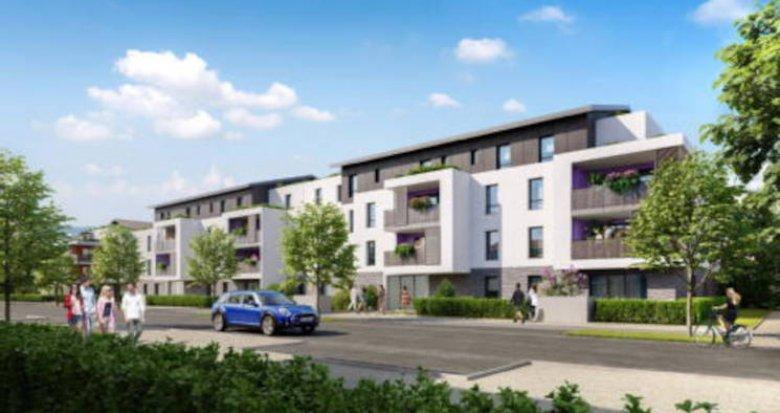 Achat / Vente appartement neuf Cessy au coeur d'un parc paysager (01170) - Réf. 5703