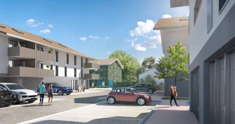Achat / Vente appartement neuf Chens-sur-Léman proche centre et lac (74140) - Réf. 4519