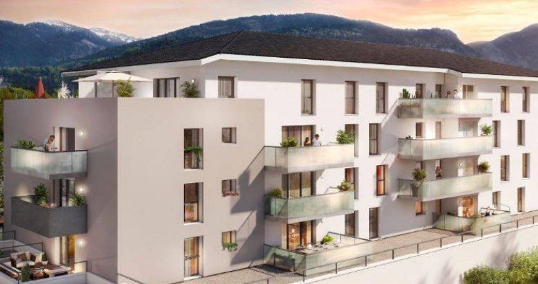 Achat / Vente appartement neuf Cluses proche parc des Esserts (74300) - Réf. 4229