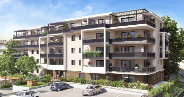 Achat / Vente appartement neuf Collonge-sous-Salève à 100 mètres du bus (74160) - Réf. 4662