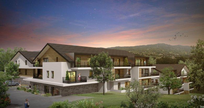 Achat / Vente appartement neuf Cranves-Sales entre calme et commodités (74380) - Réf. 1385