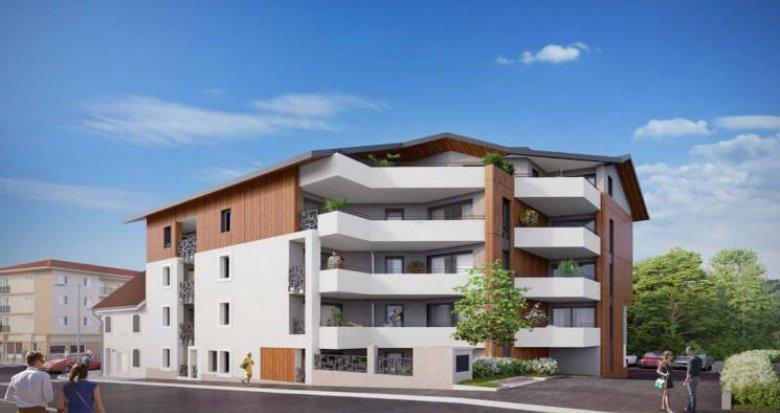 Achat / Vente appartement neuf Cruseilles en coeur de ville (74350) - Réf. 4908
