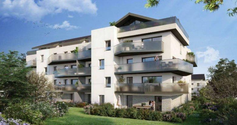 Achat / Vente appartement neuf Divonne-les-Bains à deux pas du bus (01220) - Réf. 4769