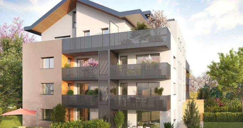 Achat / Vente appartement neuf Divonne-les-Bains proche centre-ville (01220) - Réf. 2395