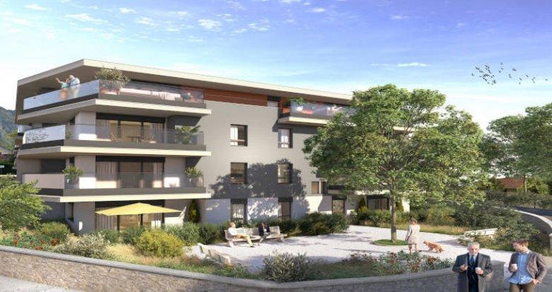Achat / Vente appartement neuf Etrembières à moins de 20min du Jet d'Eau (74100) - Réf. 5762