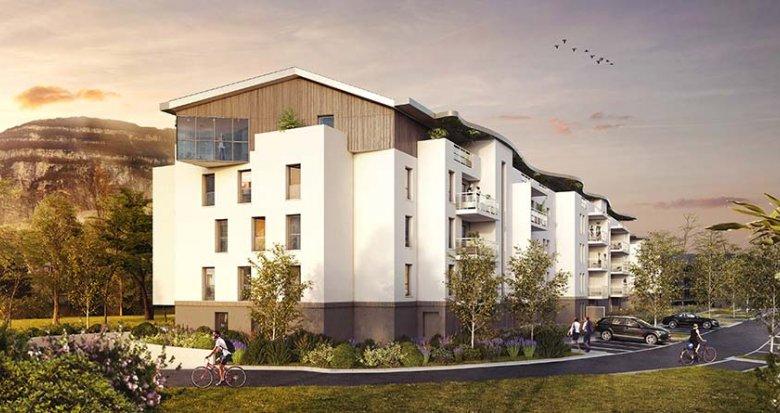 Achat / Vente appartement neuf Etrembières proche Genève centre (74100) - Réf. 2566