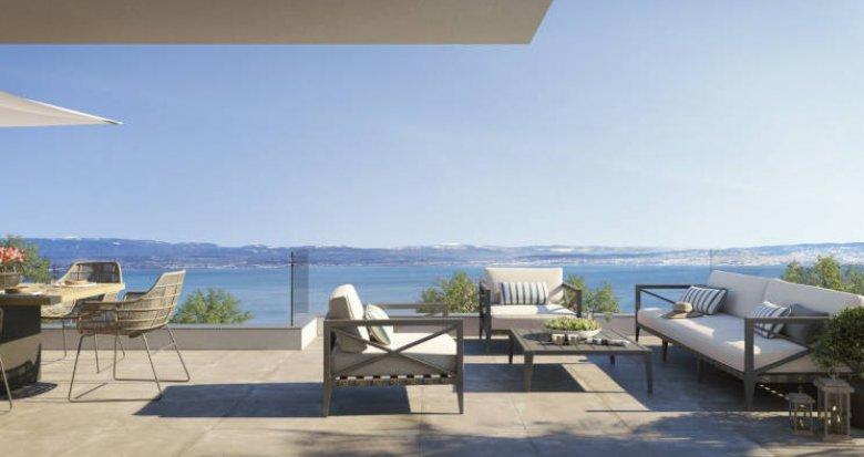 Achat / Vente appartement neuf Évian-les-Bains vue sur le lac (74500) - Réf. 6066