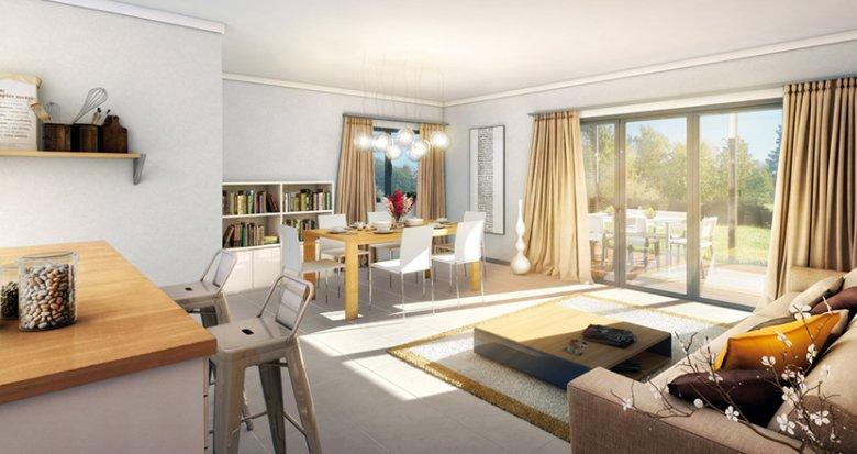 Achat / Vente appartement neuf Feigère proche de Saint-Julien en Genevois (74160) - Réf. 1474