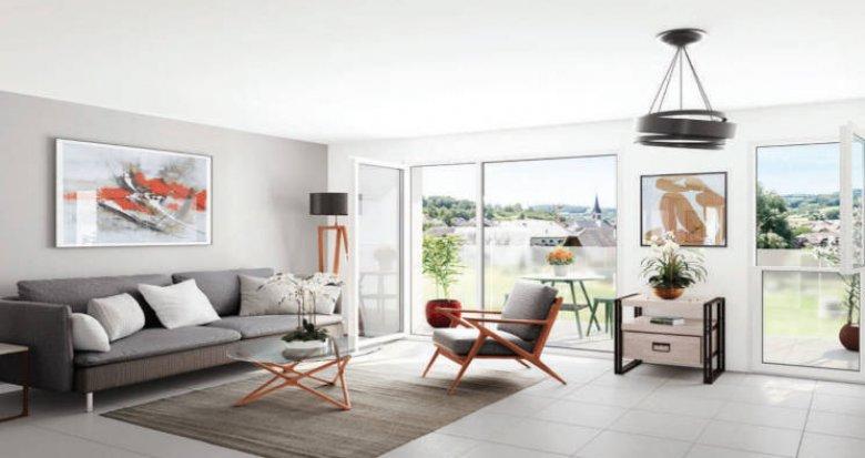 Achat / Vente appartement neuf La Balme de Sillingy au pied de la Mandallaz (74330) - Réf. 4388