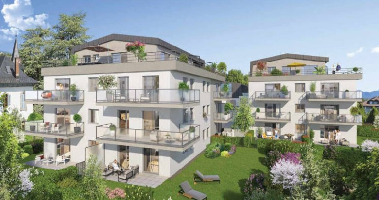 Achat / Vente appartement neuf La Roche-sur-Foron lisière centre-ville (74800) - Réf. 5022
