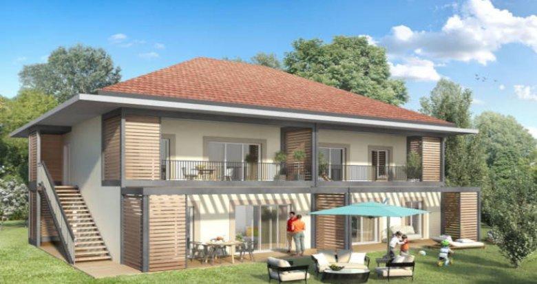 Achat / Vente appartement neuf Lathuile hameau de Chaparon (74210) - Réf. 3100