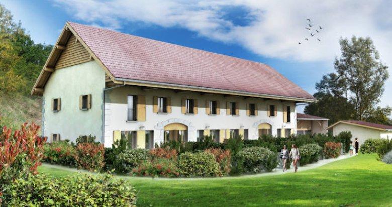 Achat / Vente appartement neuf Lovagny à deux pas du château de Montrottier (74330) - Réf. 3797