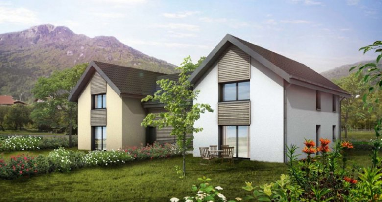 Achat / Vente appartement neuf Marignier proche gare (74970) - Réf. 2426