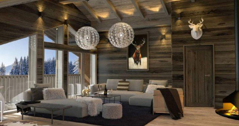 Achat / Vente appartement neuf Megève au cœur des montagnes savoyardes (74120) - Réf. 4416