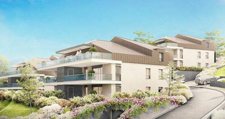 Achat / Vente appartement neuf Neuvecelle proche Evian-les-Bains (74500) - Réf. 3464