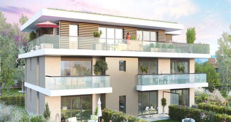 Achat / Vente appartement neuf Perrignier lieu-dit Le Fougueux (74550) - Réf. 4659