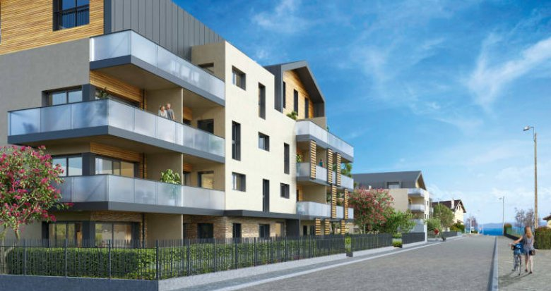 Achat / Vente appartement neuf Publier proche du port (74500) - Réf. 5796