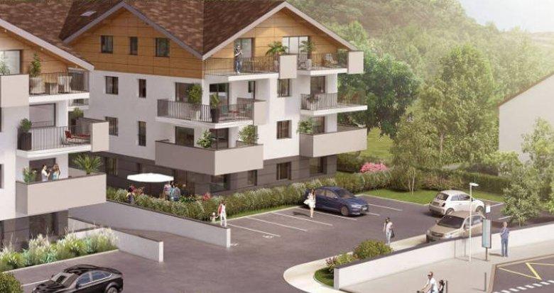Achat / Vente appartement neuf Publier proche Lac Léman (74500) - Réf. 4784