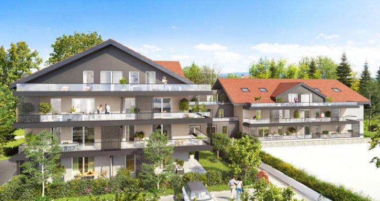 Achat / Vente appartement neuf Rumilly à deux pas du centre (74150) - Réf. 4209